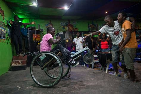 Begging on Liberia's Streets by Day, Heating Up Its Clubs