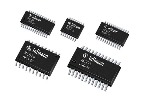 Infineon Introduces Two Low-Cost 8-bit MCU Series