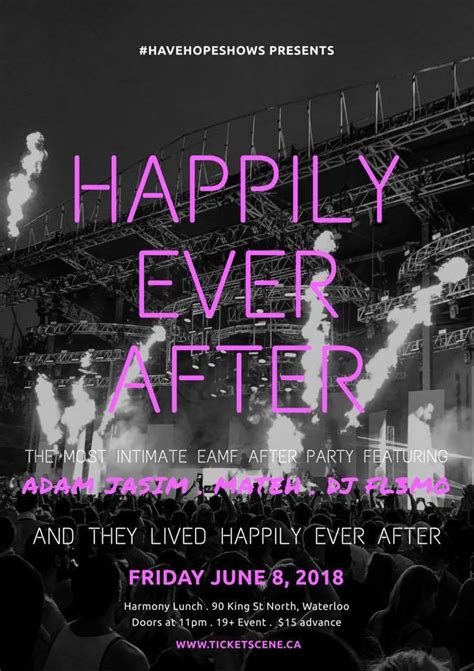Happily Ever After - EAMF Afterparty | Adam Jasim
