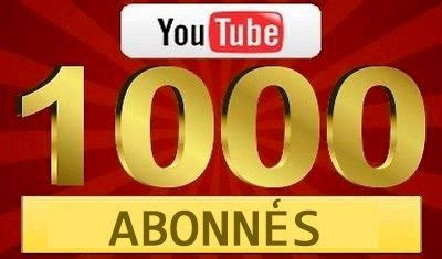 youtube-1000-abonnes-merci - Scooter Chinois 4T
