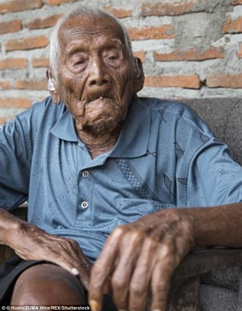 World's 'oldest man' Mbah Gotho dies 'aged 145' | Daily