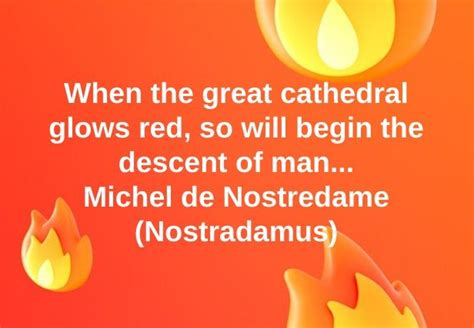 Did Nostradamus Predict the 'Descent of Man' After the