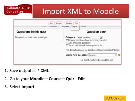How to create quiz in Moodle