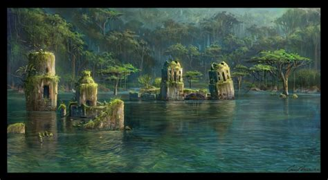 Uncharted: Drake's Fortune Concept Art