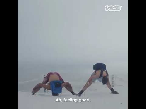 Wim Hof sets world record for climbing Everest in just his