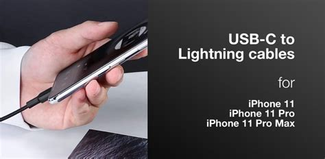 iPhone 11 Fast Charge USB-C To Lightning Cable: Here Are