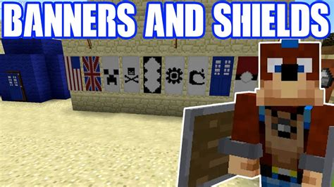 Minecraft How to Banners and Shields - Simple Tutorial