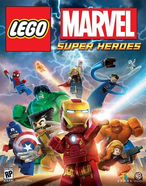 THE BEST MARVEL CONSOLE GAME EVER PART 1: LEGO MARVEL