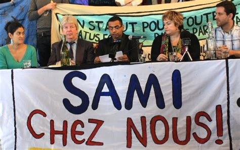 Parc-Ex residents and mayor join Sami Sheikh to demand his