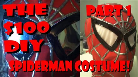 Replica Spider-man costume construction - the Mask [PART 1