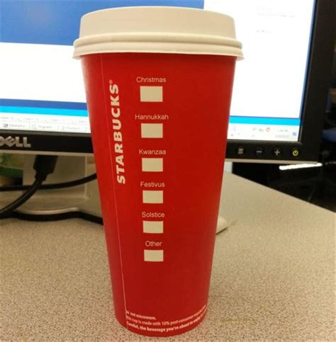 The Funny Side Of The Red Starbucks Cup Craziness - 16 Pics