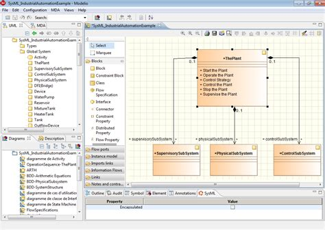 Modelio SysML Architect   Tool for modeling large-scale