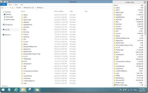 How To View Folder Size In Windows 8