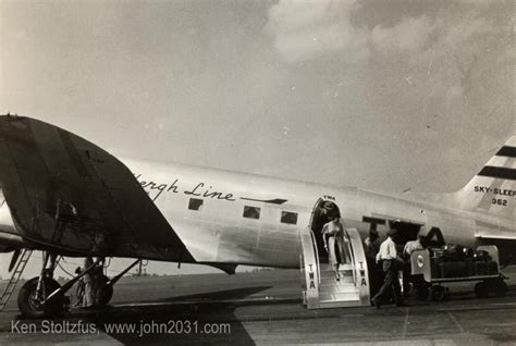 Douglas DST and DC-3 airplane pictures