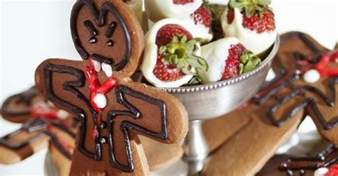 Gingerbread Halloween Vampire Cookies Recipe - Party Ideas
