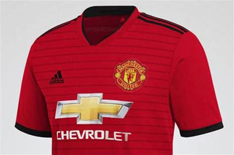 Manchester United 201819 home kit 'leaked': Is this the
