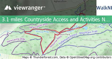 ViewRanger - Tollymore Forest Park - River Trail - Walking