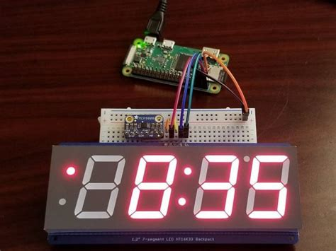 Digital Clock and Inside/Outside Temperature Monitor with