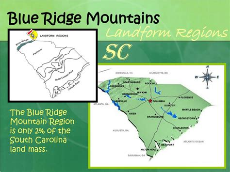PPT - South Carolina Landform Regions (and facts about