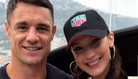 Dan Carter and supermodel Bella Hadid hang out together in