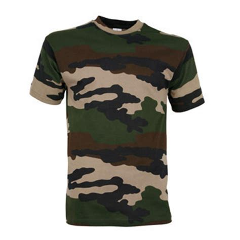 Tee shirt militaire camouflage Centre Europe - STOCK