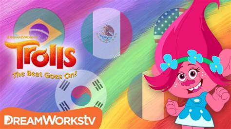 """TROLLS: THE BEAT GOES ON! """"Best Day Ever"""" in 5 Languages"""