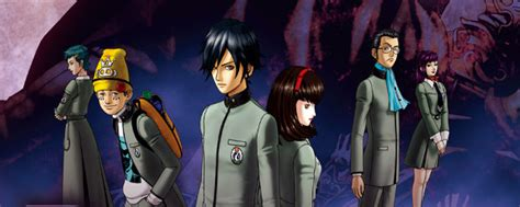 Shin Megami Tensei: Persona - Cast Images   Behind The