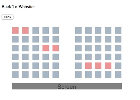 javascript - HTML5 Canvas - Cinema Seating Plan, trying to