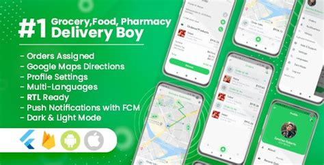 Delivery Boy for Groceries, Foods, Pharmacies, Stores