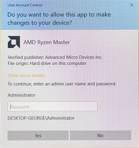 Administrator approval required for installation