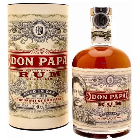 Rhum Don Papa 7 ans d'âges - Beenky