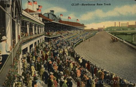 Hawthorne Race Track - View from Club House Cicero, IL