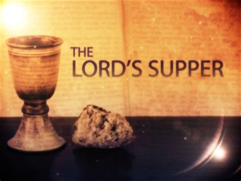 The Lord's Supper Title | Centerline New Media