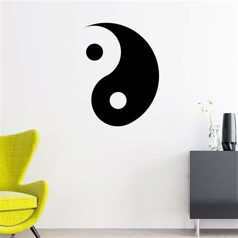 Ying Yang - Stickers Deco Design