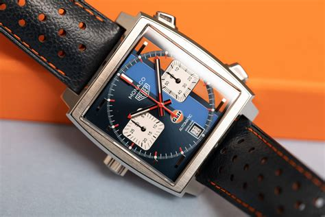 TAG Heuer Monaco Gulf Special Edition Watch Review