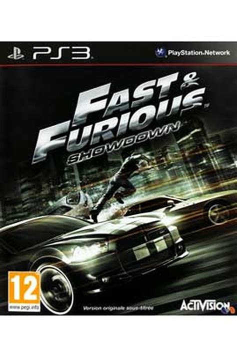 Jeux PS3 Activision FAST AND FURIOUS - SHOWDOWN (1382195