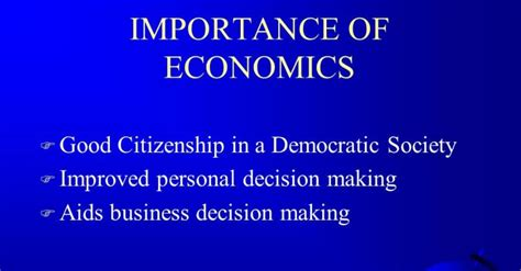 Importance of Economics in Business   Business Study Notes