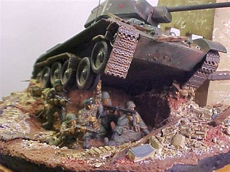 Dave Parks' Knocked Out T-34 Dio