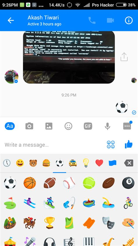 How to Enable New Facebook Messenger Secret Soccer Game in