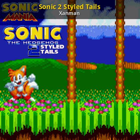 Sonic 2 Styled Tails [Sonic Mania] [Skin Mods]