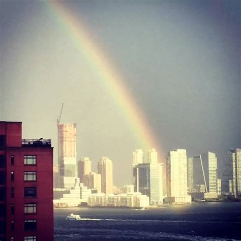 9/11 memorial: Double rainbow appears over New WTC