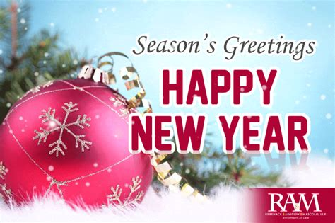 Seasons Greeting and a Very Happy New Year! - Personal