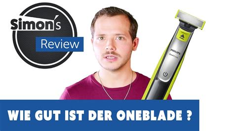 Philips OneBlade QP2520 Test Review - YouTube