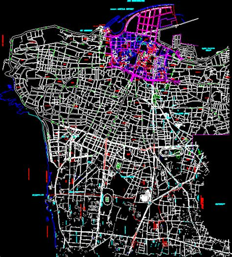 Beirut Maps DWG Detail for AutoCAD – Designs CAD