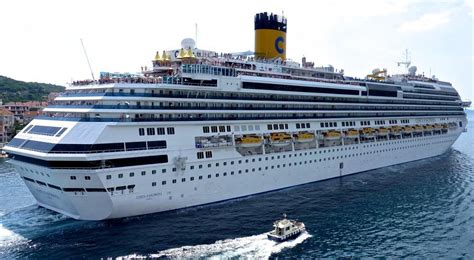 Costa Fascinosa - Itinerary Schedule, Current Position