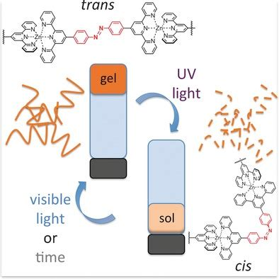 Amphiphilic Metallopolymers for Photoswitchable
