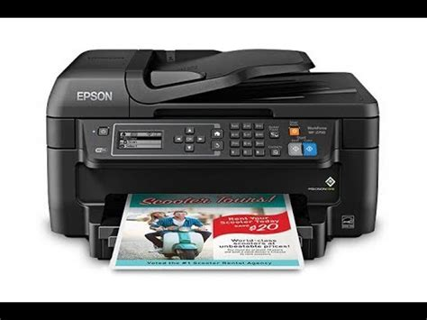 How to change ink cartridge for Epson workforce WF-2630