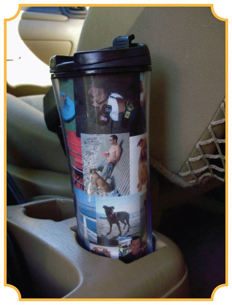Starbucks custom photo tumbler | Read the post and get
