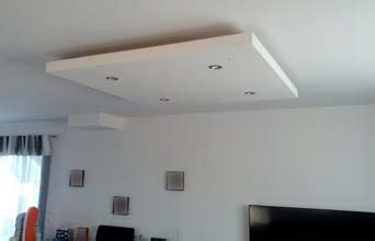 How to build a dropped ceiling box