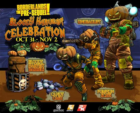 It's Also Halloween in Borderlands: The Pre-Sequel Today